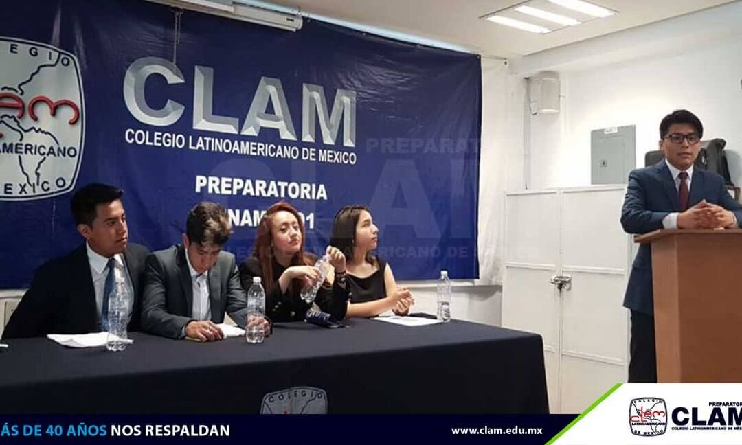 Primer debate de candidatos de elecciones internas