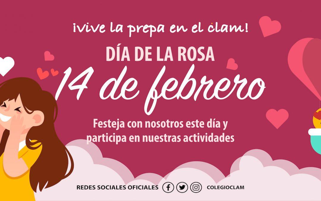 Próximo evento. Día de la rosa